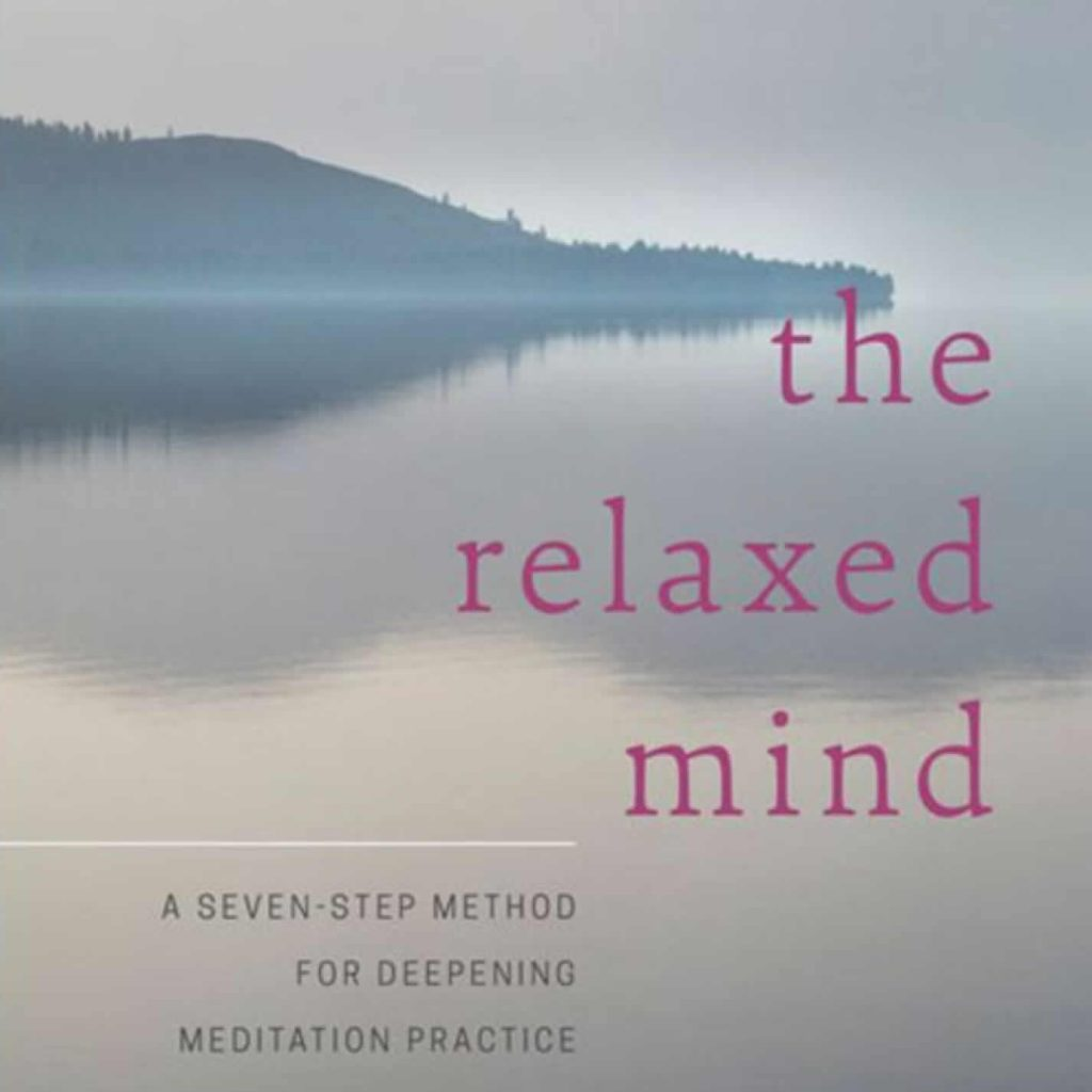 relaxed mind book cover