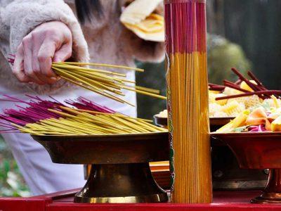 Fire Puja Offerings