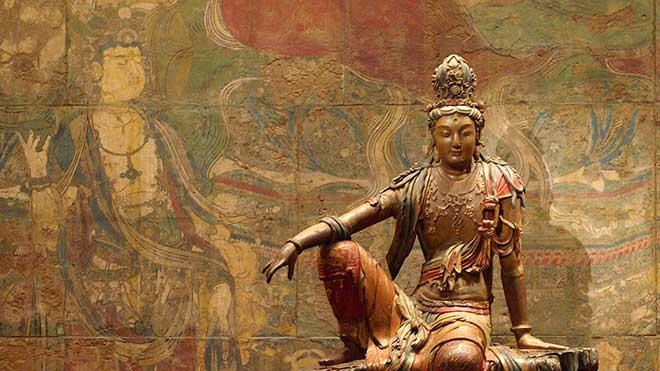 For teachings on the  Bodhicaryavatara