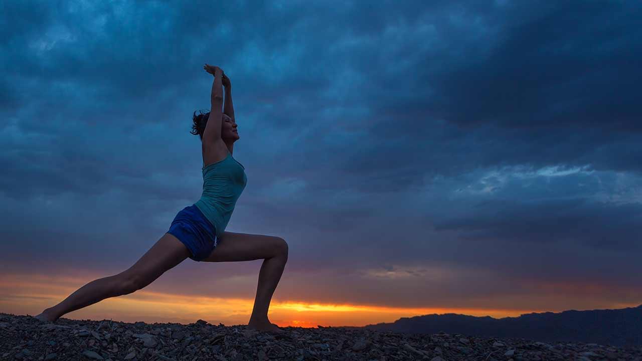 Yoga Practice in nature